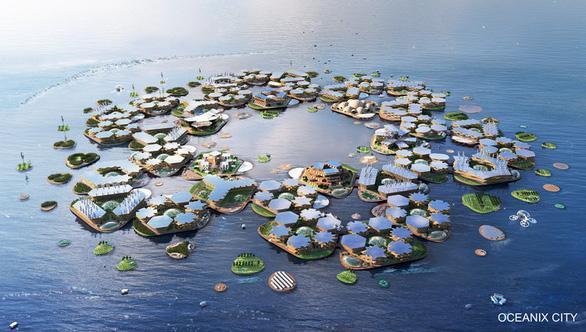 Bế tắc cát, Singapore đeo đuổi xây đô thị nổi trên biển - Ảnh 2.