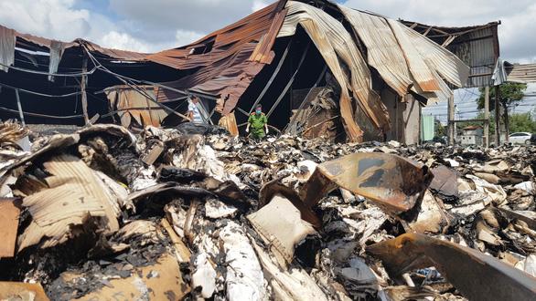 Công bố kết quả điều tra vụ cháy 40 tấn hồ sơ xe buýt ở TP.HCM - Ảnh 1.