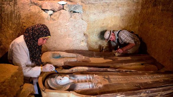 Mở lăng mộ 4.500 tuổi của quan chức cấp cao Ai Cập cổ đại - Ảnh 2.