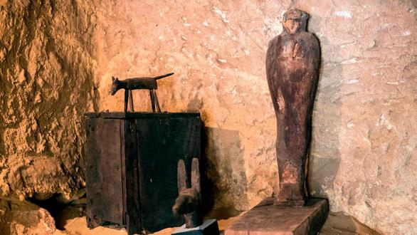 Mở lăng mộ 4.500 tuổi của quan chức cấp cao Ai Cập cổ đại - Ảnh 4.