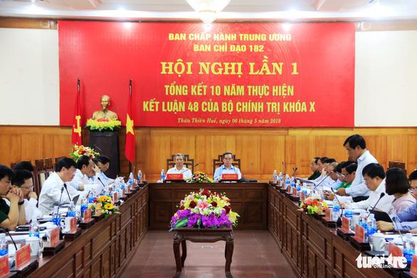 Thừa Thiên - Huế chưa đạt mục tiêu lên thành phố trực thuộc trung ương - Ảnh 2.