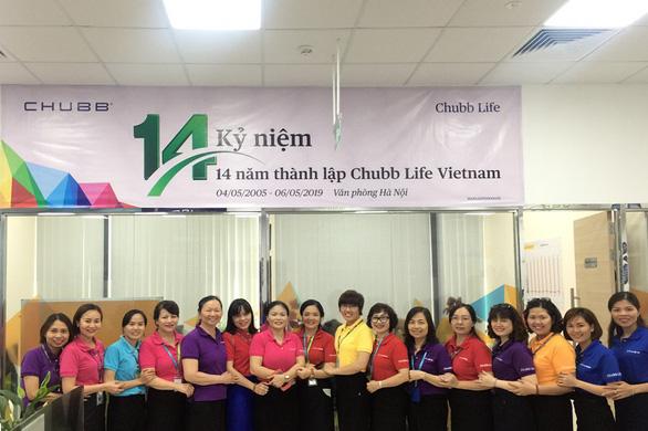 Chubb Life Việt Nam kỷ niệm 14 năm thành lập - Ảnh 3.