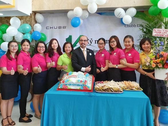 Chubb Life Việt Nam kỷ niệm 14 năm thành lập - Ảnh 4.
