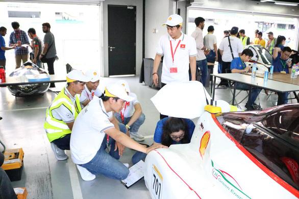 Xe tiết kiệm nhiên liệu của sinh viên Việt dự cuộc đua toàn cầu - Ảnh 1.