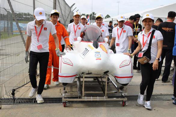 Xe tiết kiệm nhiên liệu của sinh viên Việt dự cuộc đua toàn cầu - Ảnh 2.