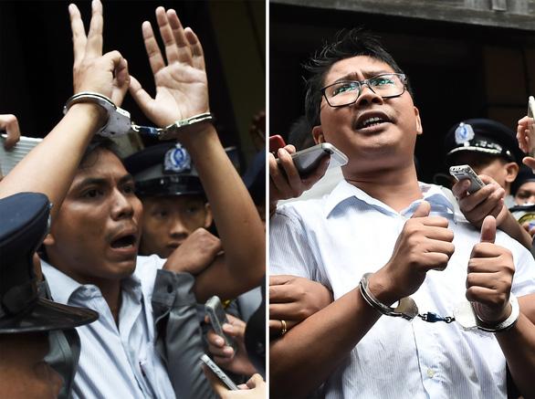 Myanmar ân xá hơn 6.500 tù nhân, có 2 phóng viên của Reuters - Ảnh 1.