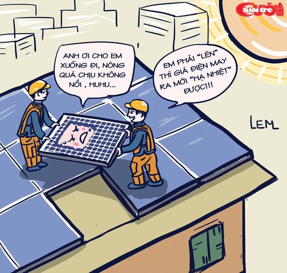 Biếm họa điện mặt giời - Ảnh 2.