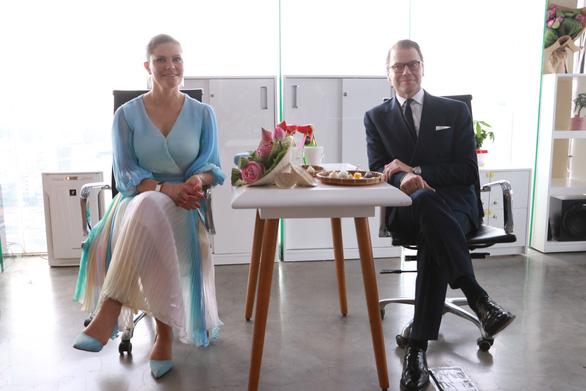 Một ngày của công chúa Thụy Điển tại TP.HCM - Ảnh 5.