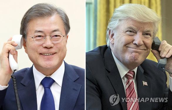 Ông Trump ủng hộ Hàn Quốc viện trợ nhân đạo cho Triều Tiên - Ảnh 1.
