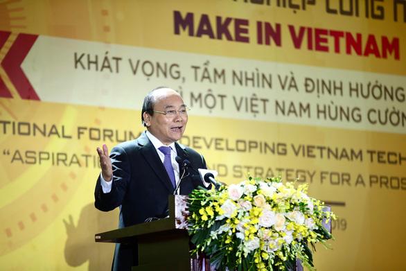 Thủ tướng: Công nghệ là cơ hội để Việt Nam thoát bẫy thu nhập trung bình - Ảnh 1.