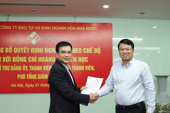 Ông Nguyễn Chí Thành giữ chức tổng giám đốc SCIC - Ảnh 1.