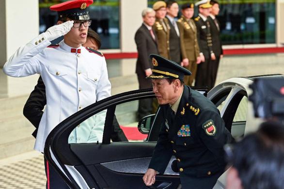 Bộ trưởng quốc phòng Mỹ, Trung thảo luận gì tại Shangri-La? - Ảnh 1.