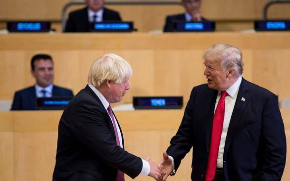 Ông Trump 'chọn' ngoại trưởng Boris Johnson làm... tân thủ tướng Anh - Ảnh 1.