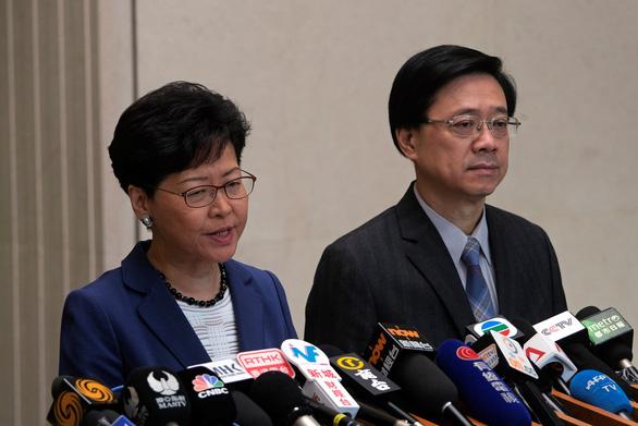 Bất chấp biểu tình, lãnh đạo Hong Kong quyết thông qua luật dẫn độ - Ảnh 1.