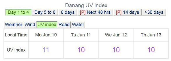 Cả nước nắng nóng, tia UV ở Hà Nội, TP.HCM có hại cho người - Ảnh 4.