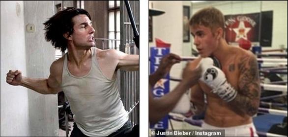 Justin Bieber thách Tom Cruise đấu võ tự do - Ảnh 1.