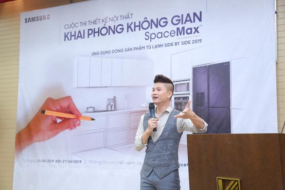 Tủ lạnh Samsung tạo cảm hứng thiết kế cho sinh viên Kiến Trúc - Ảnh 1.