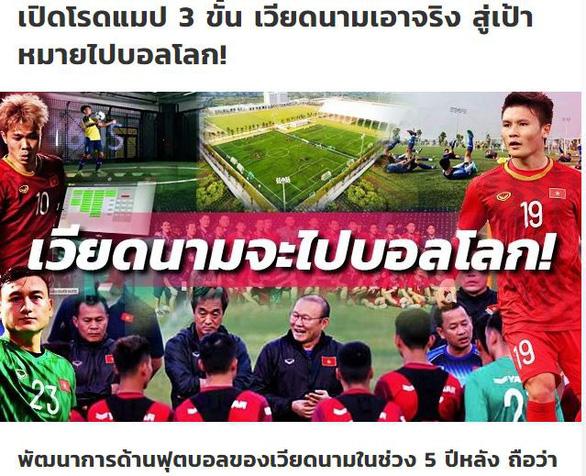 Báo Thái Lan: 3 bước giúp bóng đá Việt Nam vươn mình ra biển lớn - Ảnh 1.
