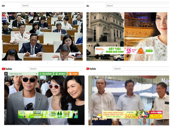 Cảnh báo các doanh nghiệp bị gắn quảng cáo trong clip xấu độc trên YouTube - Ảnh 1.