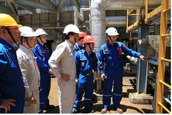 Nhà máy Lọc dầu Dung Quất hỏng quạt gió cấp khí lò hơi - Ảnh 1.