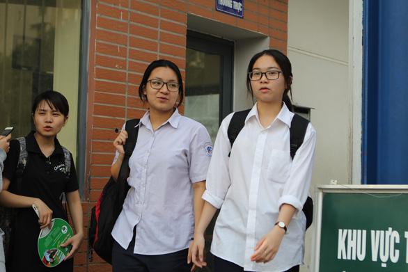 Hà Nội sẽ công bố điểm thi vào lớp 10 sớm hơn dự kiến - Ảnh 1.