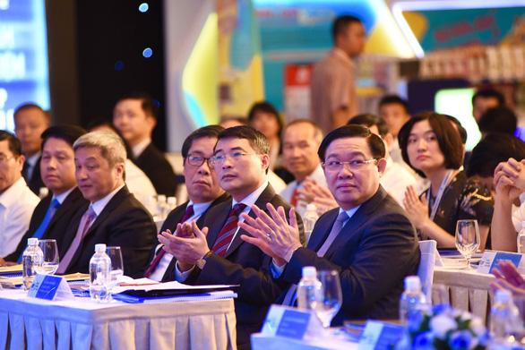 Phó thủ tướng Vương Đình Huệ đánh giá cao sáng kiến Ngày không tiền mặt - Ảnh 2.