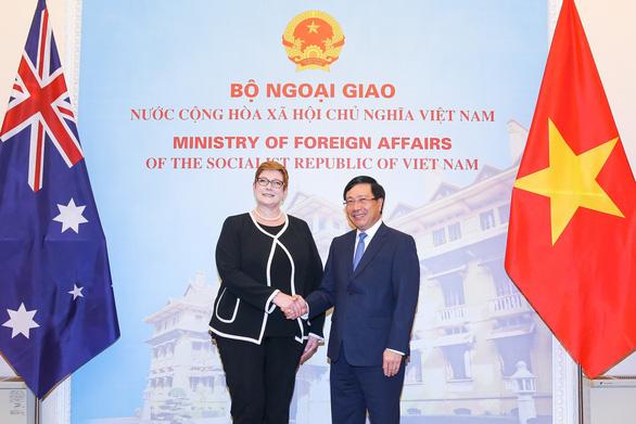 Úc cam kết tăng cường lợi ích kinh tế và chiến lược với Việt Nam - Ảnh 1.