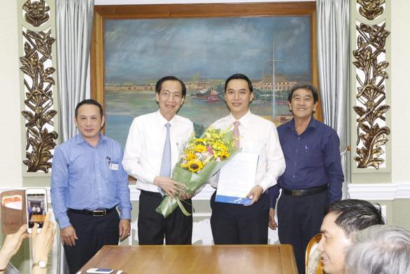 Ông Mai Hữu Quyết làm phó chánh văn phòng UBND TP.HCM - Ảnh 1.