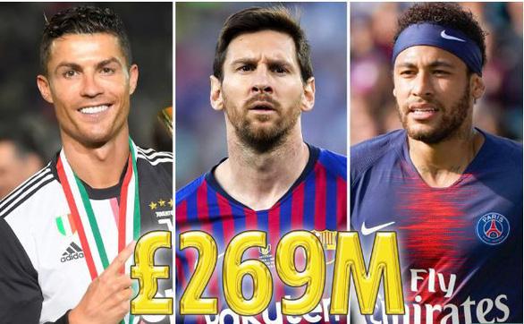 Messi vượt mặt Ronaldo trong công bố mới nhất của Forbes - Ảnh 1.