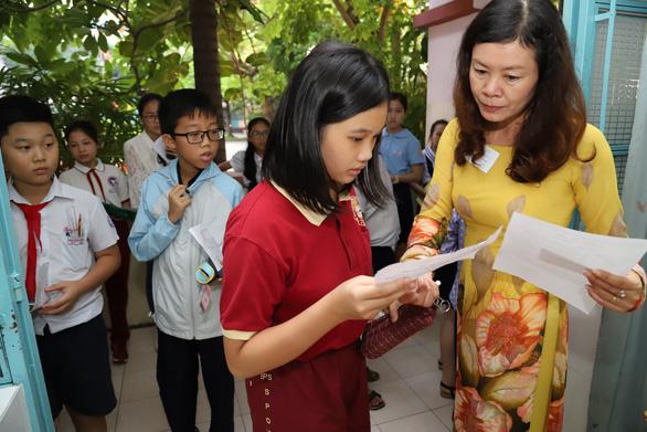 4.200 học sinh TP.HCM đua vào lớp 6 chuyên Trần Đại Nghĩa - Ảnh 1.