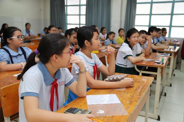 4.200 học sinh TP.HCM đua vào lớp 6 chuyên Trần Đại Nghĩa - Ảnh 9.