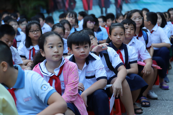4.200 học sinh TP.HCM đua vào lớp 6 chuyên Trần Đại Nghĩa - Ảnh 4.