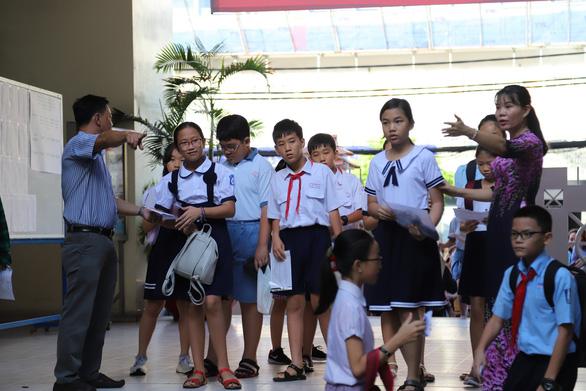 4.200 học sinh TP.HCM đua vào lớp 6 chuyên Trần Đại Nghĩa - Ảnh 6.