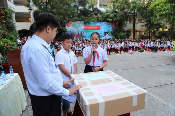 4.200 học sinh TP.HCM đua vào lớp 6 chuyên Trần Đại Nghĩa - Ảnh 7.