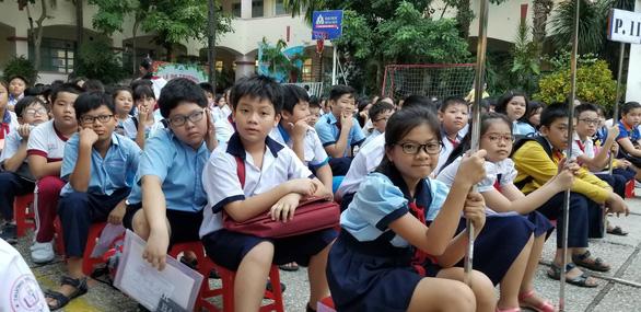 TP.HCM công bố đề thi, đáp án vào lớp 6 Trường chuyên Trần Đại Nghĩa - Ảnh 1.