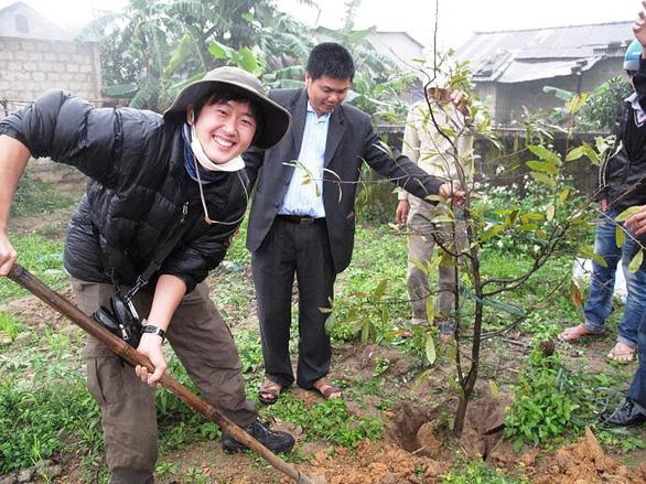 Chàng trai Nhật bảo vệ môi trường Việt Nam - Ảnh 1.