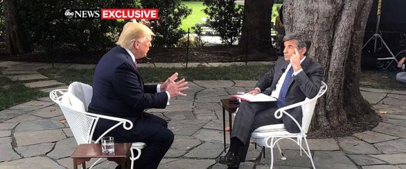 Tranh cử 2020, ông Trump nói sẵn sàng nghe thông tin xấu về đối thủ - Ảnh 2.