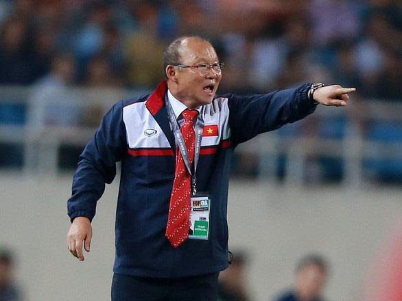 Gặp gỡ HLV Park Hang-seo, cùng chia sẻ thành quả của bóng đá Việt Nam - Ảnh 1.