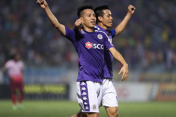 Sân Hàng Đẫy: Chiến thắng nhọc nhằn cho Hà Nội - Ảnh 1.