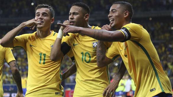 Vắng Neymar,  điều tốt cho tuyển Brazil - Ảnh 1.
