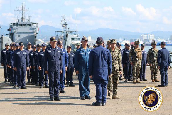 Philippines tăng cường tuần tra biển giữa lúc đang căng thẳng với Trung Quốc - Ảnh 1.