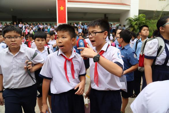 Đã có điểm thi lớp 6 trường chuyên Trần Đại Nghĩa - Ảnh 1.