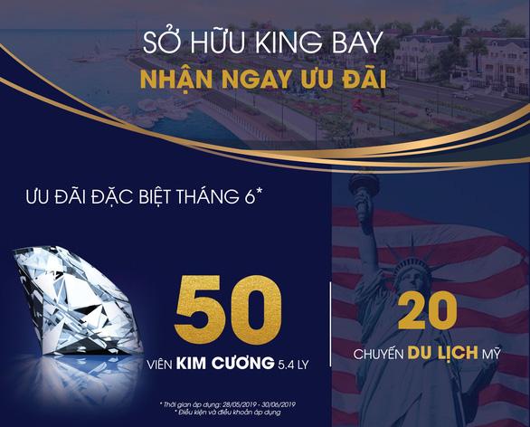 Sở hữu King Bay - nhận ngay 50 viên kim cương 5.4 ly - Ảnh 1.