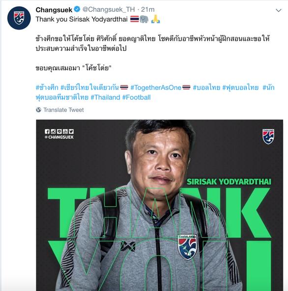 HLV Yodyardthai chia tay Thái Lan sau thất bại ở King's Cup - Ảnh 1.