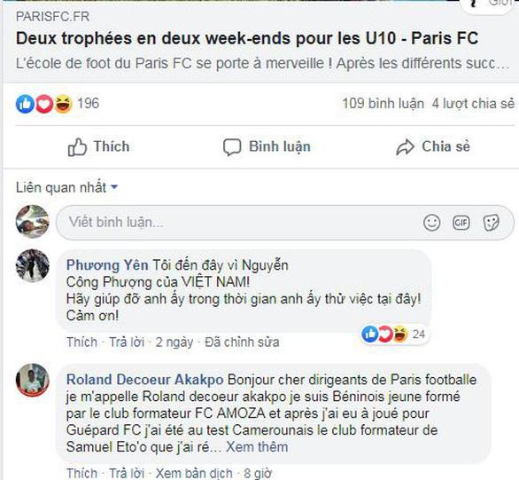 CĐV Pháp tò mò về Nguyễn Công Phượng - Ảnh 1.