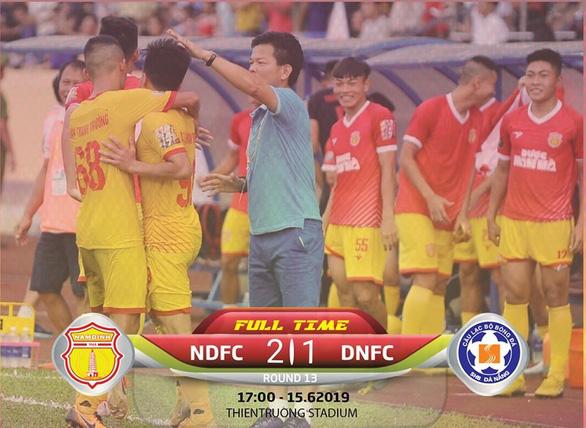 Tin Mibet: SHB Đà Nẵng đã để thua Nam Định 1-2
