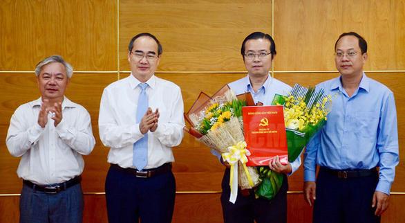 Ông Lê Văn Minh làm phó Ban tuyên giáo Thành ủy TP.HCM - Ảnh 1.