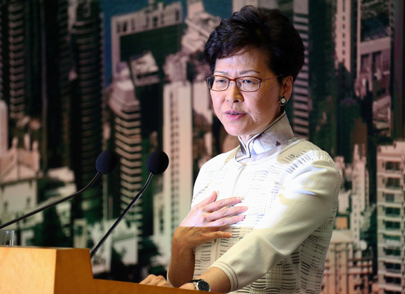 Con đường trắc trở của lãnh đạo Hong Kong Lâm Trịnh Nguyệt Nga - Ảnh 1.
