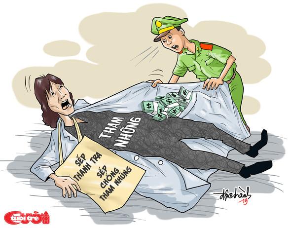Tham nhũng khi đang chống tham nhũng! - Ảnh 1.