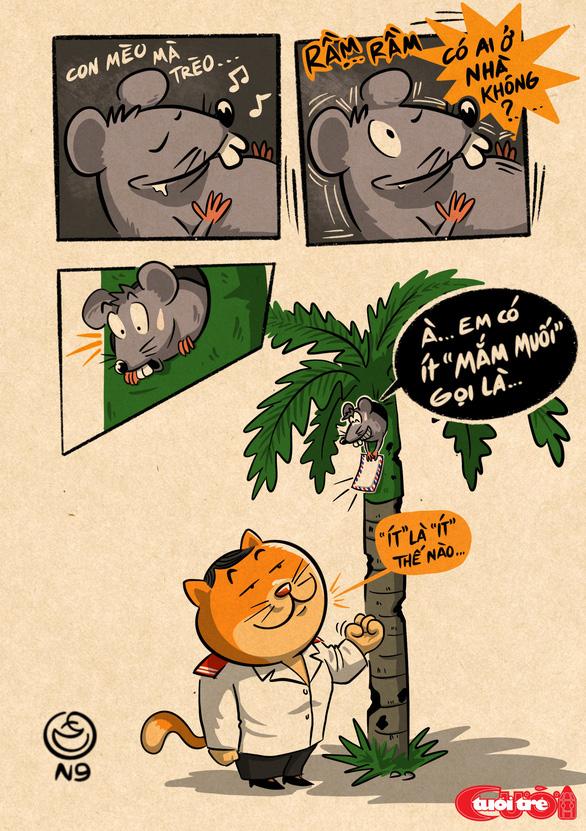 Con mèo mà trèo cây cau - Ảnh 1.